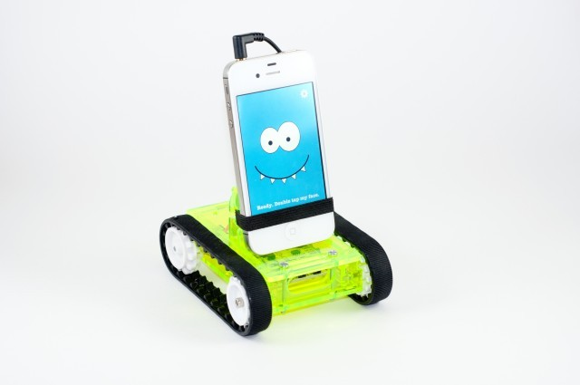laughingsquid:  Romo, A Small Robot With a Smartphone Brain