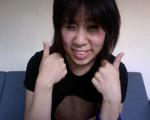 DAY TWO OF WORKING OUT~ YEAHHHHHHHH~ 45 min of spinning *A* OH GOD I AM SOAKED IN SWEAT. But that's okay because I like it LOL Healthy eating begins today! :D I'll post a pic of what I ate for dinner later :O