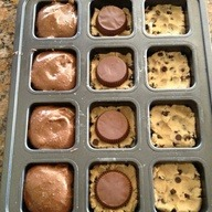 Brownies, Reeces ups and cookie dough ^_^