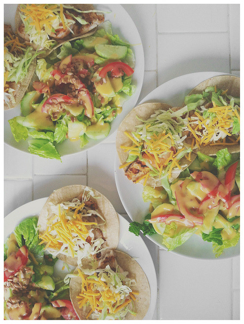 candidappetite:  It's Taco Tuesday everyone. I'm celebrating with fish tacos for dinner. How will you celebrate?
