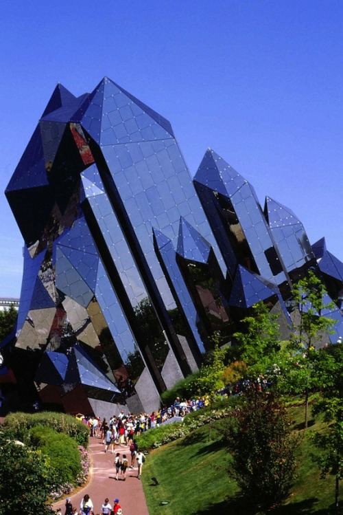 Kinémax in The park, Futuroscope (Poitiers, Poitou-Charentes, #France) by Denis Laming #architecture
