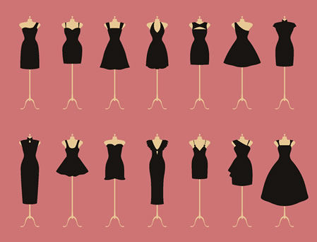 general-miss-a:  All the black dresses.