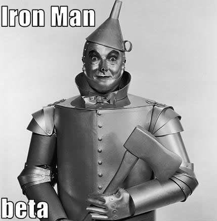 IronMan Beta