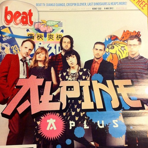We're on the cover of @BeatMagazine this week! Photo by our friend @benclementphoto  (Taken with Instagram)