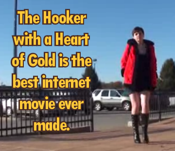 "tgwtgsecrets:  ""The Hooker with a Heart of Gold is the best internet movie ever made.""  It has one of the best soundtracks too. Lovely use of ""Whiter Shade of Pale"" And I can never look at that Neil Young song the same way."