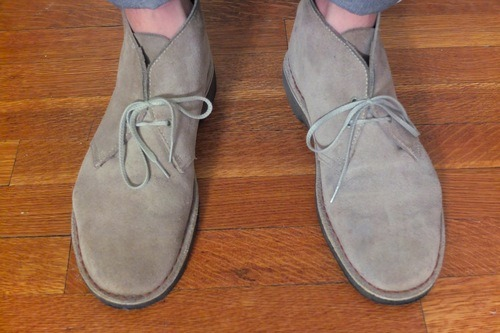 Beeswax Suede Shoes