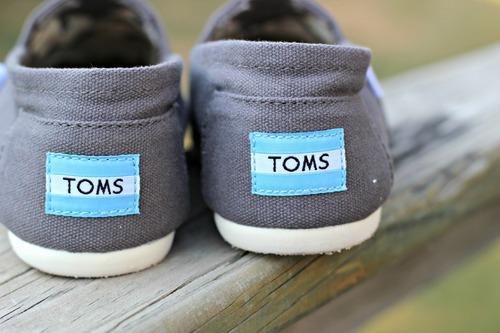 I love my Toms, except for the weird tan it leaves on my feet.