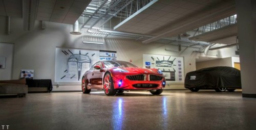 Fisker Showroom T O P - T I E R