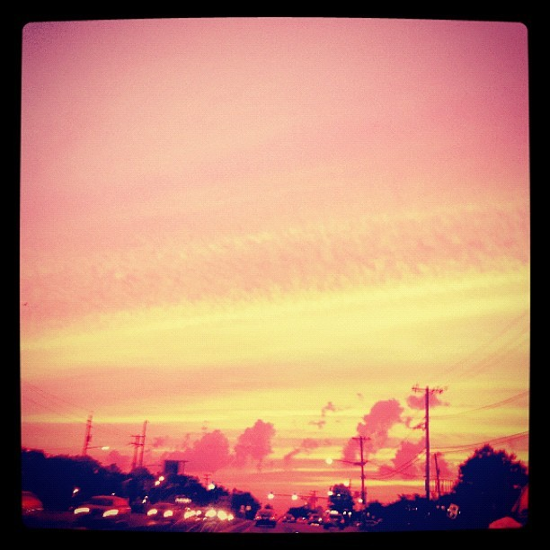 Warm skies  (Taken with Instagram)