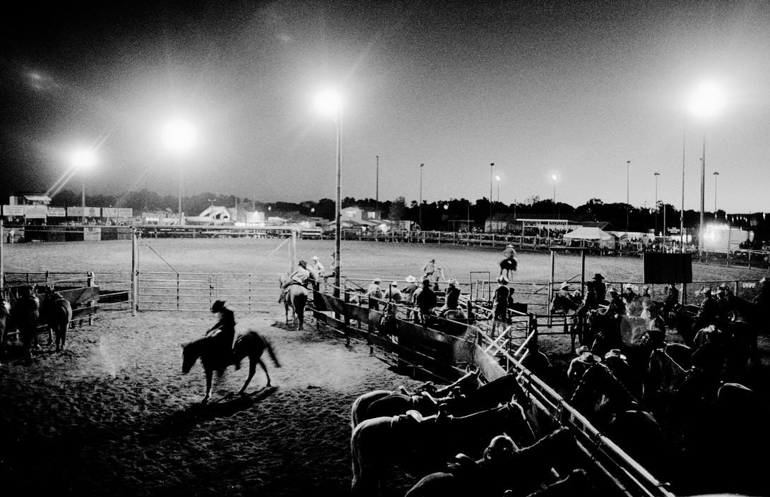 Trent Parke AUSTRALIA. Outback Queensland. Cloncurry Rodeo and Merry Muster. 2003