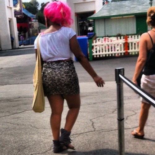 #FashionFail. If you're over 30 and you dress like this.. #YouWrongForThat! (Taken with Instagram)