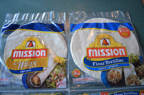 "Marketing Language: ""Wraps"" vs. ""Tortillas""  ""… [T]he bag of wraps cost 26¢ more than the tortillas.  Moreover, since there were only 6 wraps in the package of wraps, but 8 tortillas in the package of tortillas, each wrap cost 19¢ more than each tortilla… Mission has figured out that they can sell their product for a higher price if they name it 'wraps'"""