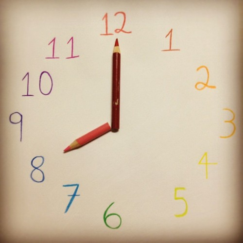 7. 8 O'clock. #photoadayaug #photoaday #Colors #Clock #8 (Tomada con Instagram)