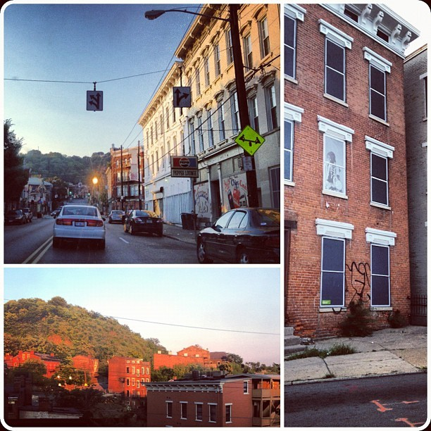 #sunset on my way home from work #otr #otrcincy #cincinnati #thisisOTR (Taken with Instagram)