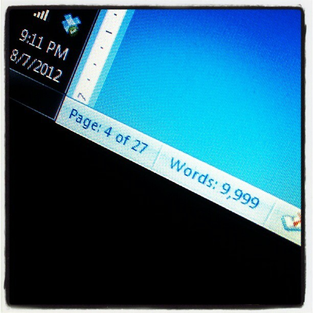 #close to #finished #tired of #typing (Taken with Instagram)