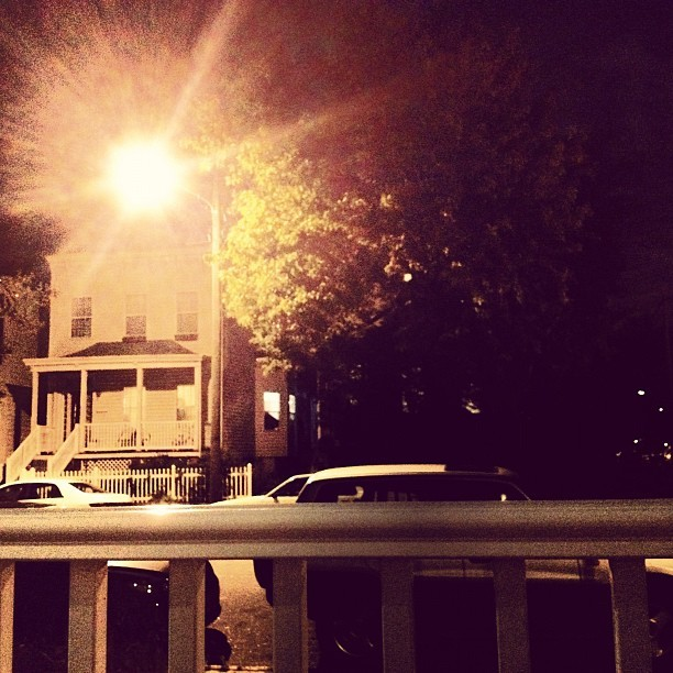 Porch night, perfect weather (Taken with Instagram)