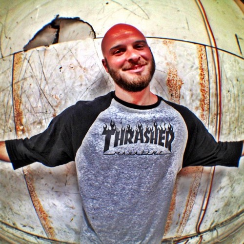 Tony Vitello_Hunters Point, SF #Portrait #Thrasher #Fisheye #SF  (Taken with Instagram)