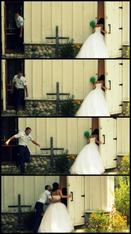 Perfect wedding fun.