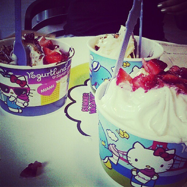 Hello kitty yum yum (Taken with Instagram)