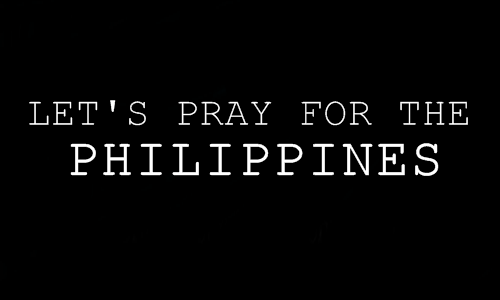 Praying can only go halfway, we should also do something.