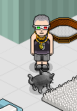 guccicucci:  I'm back on Habbo omg look at me and Meme   Omgg Habbo Hotel. I used be on this everyday back in day ^.^