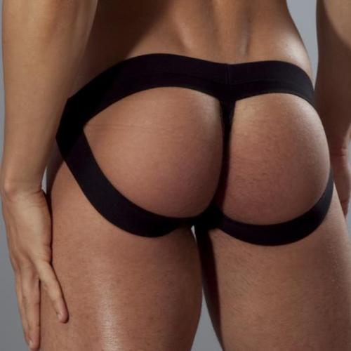 undiefangallery:  The BEST of both worlds… a THONG and a JOCK all in one… Would you wear this hot McKillop Jock?