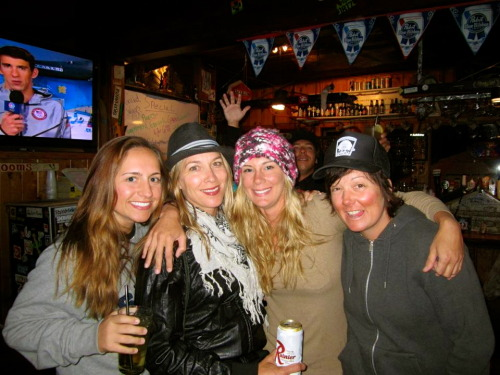 My favorite ladies in govy! (Me, Kellie, Melissa, & Kara. )
