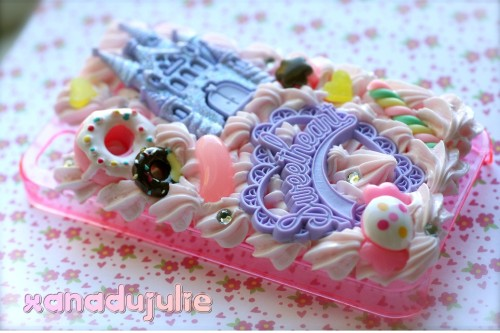 Pink Whippie Sweet Princess Case :3