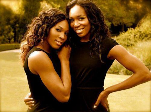 http://www.forbrowngirls.tumblr.com Venus and Serena Williams- Congrats Brown Beauties!!