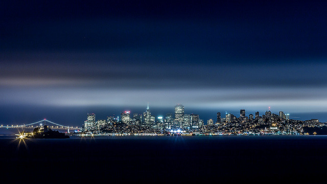 A Night In The City - San Francisco Skyline on Flickr.Via Flickr: Here is the last shot I got before we left this one abandoned area. Link: smu.gs/NiiVyU [Website] [facebook] [Google+] [Tumblr] [Twitter]*All Rights reserved - Please do not use my images on blogs, personal or professional websites, or any other digital media without my consent. Thank you.