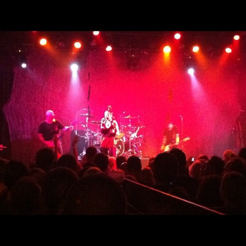 Shirlz! #garbage (Taken with Instagram at Metro)