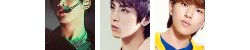 41 mixed SHINee icons ↳ here ok Jonghyun Minho and Onew yeeessss