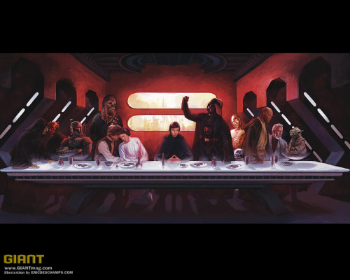 The last intergalactic supper.