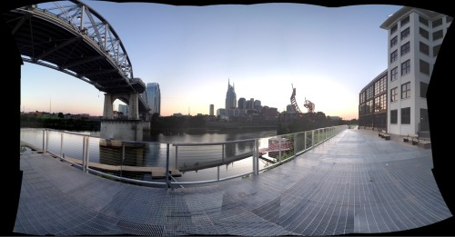 Rode the bike down to Cumberland Park after work this evening.