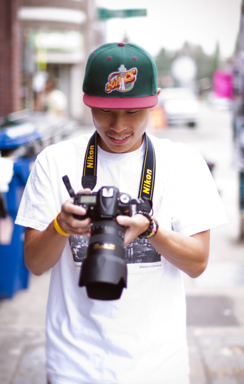 elteodoro:  Anthony - Went on a photo walk with some friends on Capitol Hill! (Seattle, WA)  hehe my smile ;D