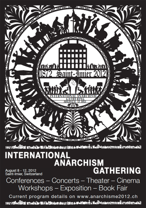 class-struggle-anarchism:  So this is happening around now … is anyone attending?   Yep I was there. So amazing and inspirational to talk wi folk from all over the world who are doing really good stuff. I didn't go to as many of the formal talks and workshops as I would've liked, but as it happens some of the best experiences I had over the week were just talking with people about where they're from, what their situation is, and what they're doing. Also having three square (vegan, organic) meals a day and camping on top of a mountain was pretty nice. And, you know, seeing self-organisation in action on a mass scale. Also having bonding time with my friends and comrades, love you guiz. <3