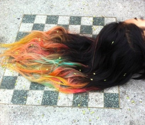 dip dye on We Heart It. http://weheartit.com/entry/34432427