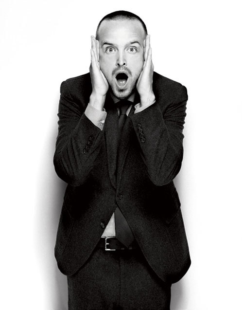 Aaron Paul - Esquire by Yu Tsai, September 2012