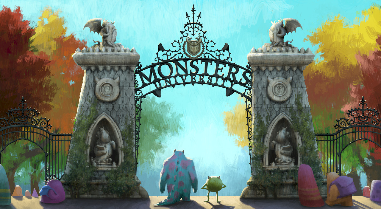 bohemea:  Monsters University