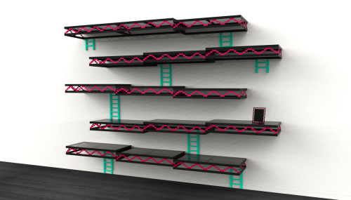mahlibombing:  Donkey Kong Wall Shelves by Igor Chak  Hot damn.
