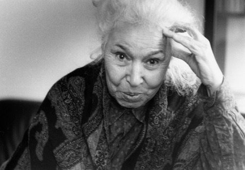 "thalamtnafsee:  peopleinislam:  People in Islam: Nawal el Saadawi — Egyptian feminist, author, and women's rights advocate. Among the most controversial and outspoken women of the century, Nawal el Saadawi has been an interesting search. An Egyptian feminist, socialist, and author, Nawal has been accused of apostasy for her ""radical"" ideas of Islam with regards to fundamentalism, women's rights, and religion. Despite the fact that many of her books have gone banned by Egypt's ex-President Anwar Sadat, she has found motivation to battle against the claims that have been presented upon her. And with that, for many Arab feminists, she is an ultimate inspiration. According to sources, Johannesburg's Mail & Guardian describes her as ""One of Egypt's most outspoken women [and] the new Salman Rushdie."" And since she began to write over 25 years ago, El Saadawi's books (27 in all) have concentrated on women, particularly Arab women, their sexuality and legal status, and because of this, she is understood as successful.  To visit her facebook, like here. To visit her official website, click here. To read an one on one interview with Nawal, read here. And to read more about her, click here.  I know I'm going to get a lot of ish for this, but I'm ordering a few of her books soon, and I know for a fact that it wont come to disappoint."