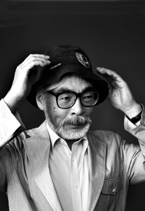 Hayao Miyazaki, one of artists that inspired me to go into art.