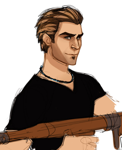 kreugan:  struggling and failing to draw Uncharted characters blog