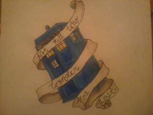 Not All Who Wander Are Lost, Drawn just for you bananasandscrewdrivers <3 I hope you like it.