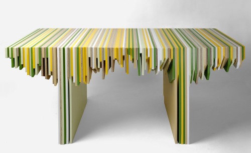 Rabih Hage Turns Leftover Dupont Corian Into A Modern Furniture Collection