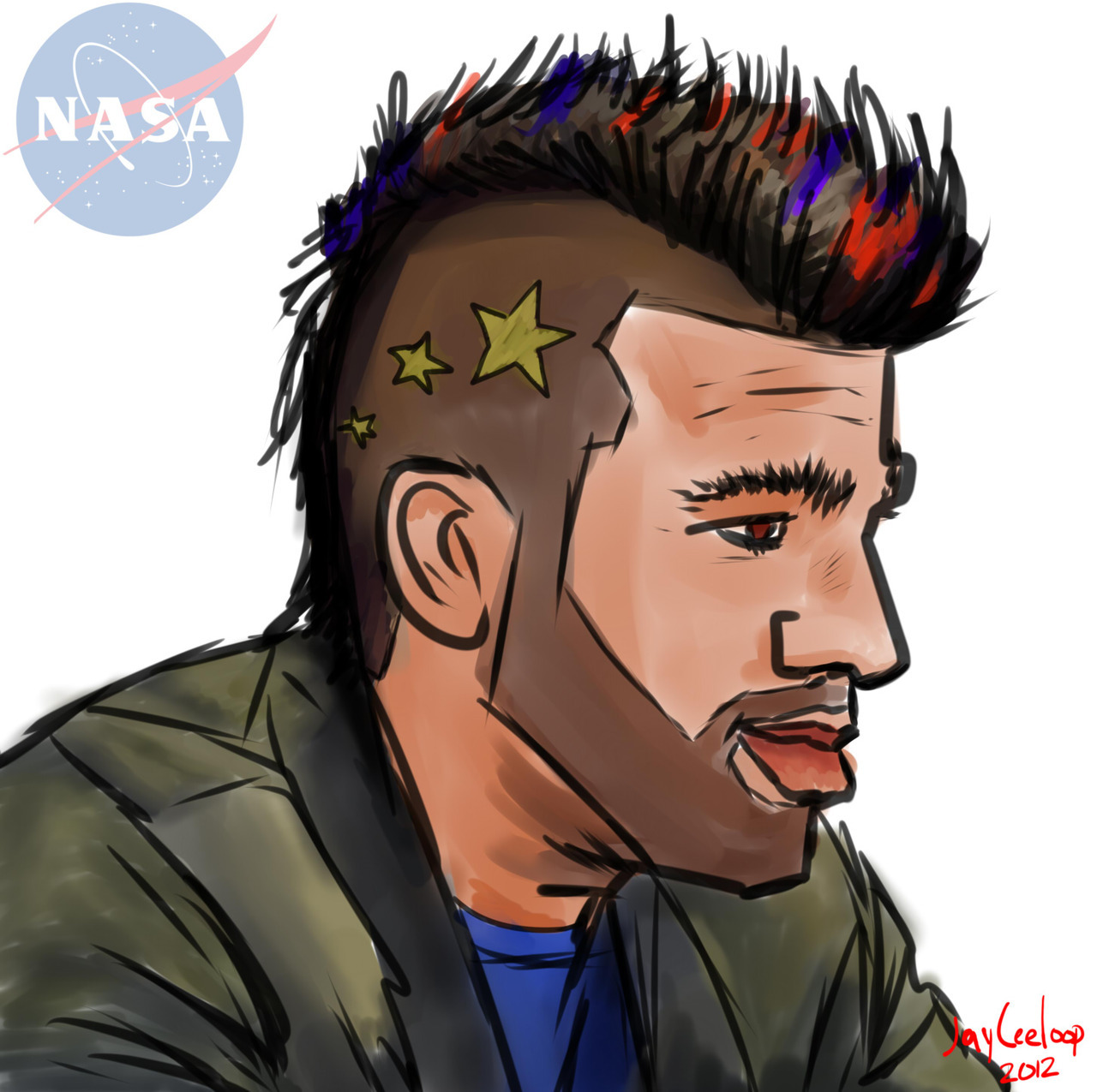 Bobak Ferdowsi, the Mohawk Guy <3