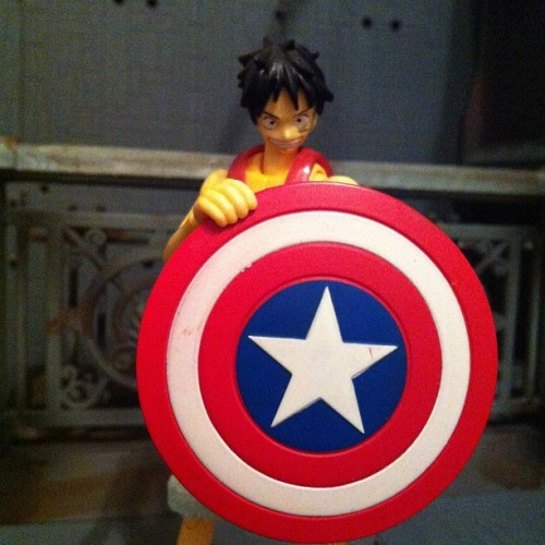 Captain luffy… (Taken with Instagram)