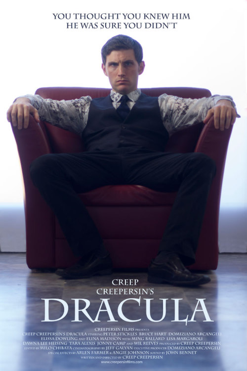 "'Creep Creepersin's Dracula' Poster and Release Details Unveiled -""You thought you knew him. He was sure you didn't."""