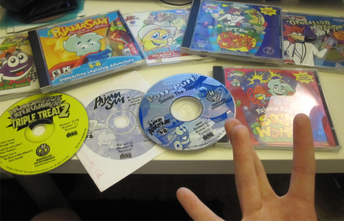 ilovedosh:  This bears reposting. My Humongous Entertainment collection (That I could find)