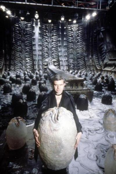 Giger in the Egg Chamber